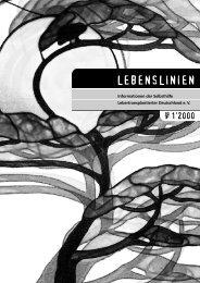 1/2000 - u.a. Lebendspende, Cystenleber - Aktuell - Selbsthilfe ...