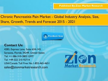 Chronic Pancreatitis Pain Market