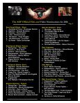 The AOF Official Film and Video Nominations for 2016 - Page 2