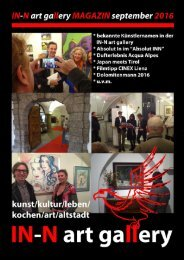 IN-N art gallery Magazin 03/2016