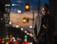 of Fintech Q2 2016