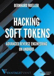 Hacking Soft Tokens