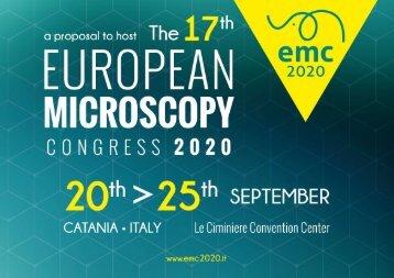 Proposal - 17th EMC 2020 - Catania