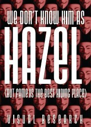We don't know him as Hazel