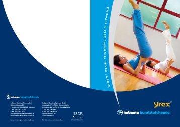 SIREX® STAR Therapy, Gym & Fitness - Imbema Kunststofchemie