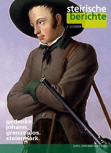 1-2 /09 - Erzherzog Johann - Steiermark