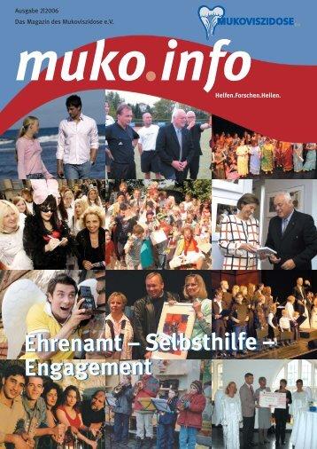 Selbsthilfe – Engagement (PDF 4,4 MB) - Mukoviszidose e.V.