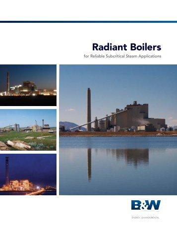 Radiant Boilers