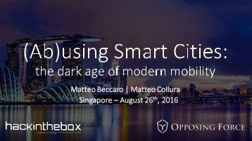 Matteo Beccaro | Matteo Collura Singapore – August 26  2016