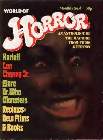 World Of Horror (1972)