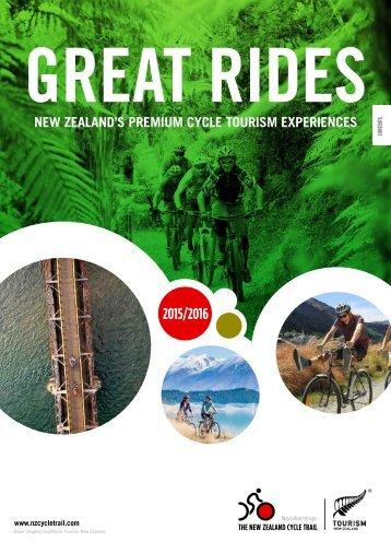 GreatRides-Broschüre