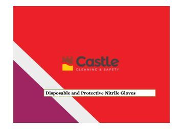 Disposable and Protective Nitrile Gloves
