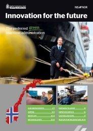 NMA - Innovation for the future - SMM Hamburg