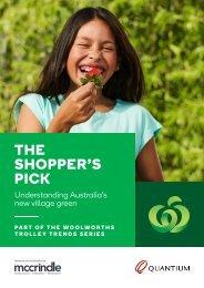THE SHOPPER'S PICK