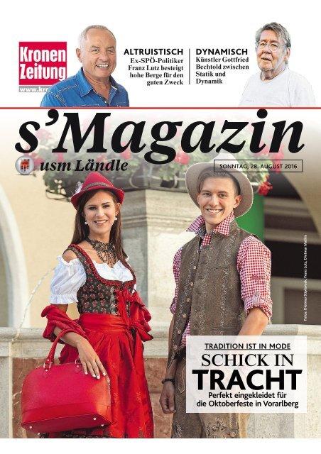 s'Magazin usm Ländle, 28. August 2016