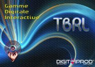 Plaquette Tables Digitales TBRL