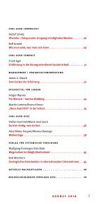 Neuerscheinungen Herbst 2016 im Carl-Auer Verlag - Page 5
