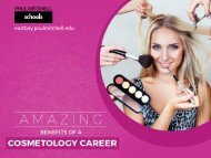 Perks of Choosing Cosmetology as Your Career
