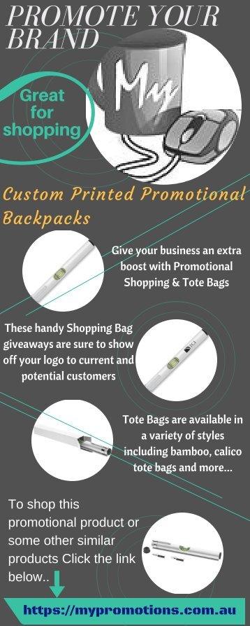 Promote Your Brand with Promotional Shopping and Tote Bags