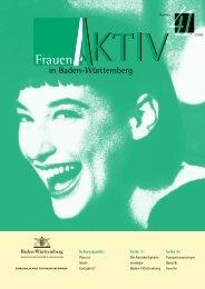 wissen, mehr erleben. - Frauen Aktiv in Baden-Württemberg