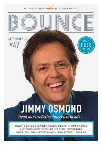 Bounce Magazine September 2016
