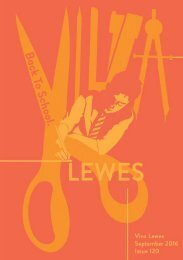 Viva Lewes Issue #120 September 2016