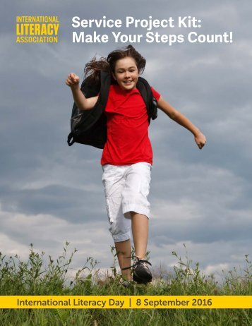 Service Project Kit Make Your Steps Count!