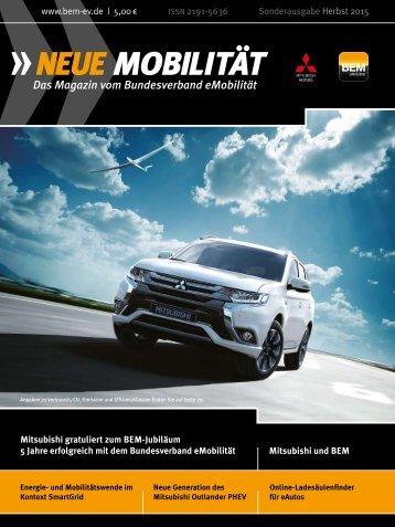 NEUE MOBILITÄT Sonderausgabe Mitsubishi