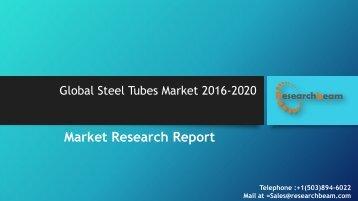 Global Steel Tubes Market 2016-2020
