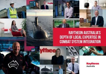 RAYTHEON AUSTRALIA'S DEPTH OF LOCAL EXPERTISE IN COMBAT SYSTEM INTEGRATION