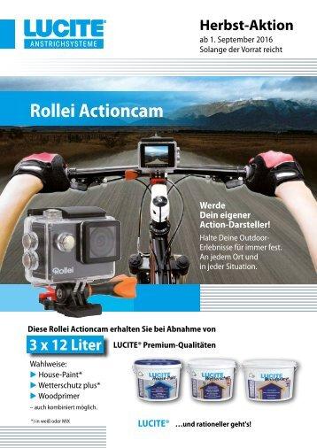 Flyer Actioncam Herbst 2016