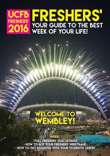Freshers' 2016 Magazine Wembley