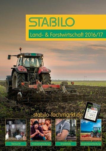 STABILO - Land- & Forstwirtschaft 2016/17 Katalog