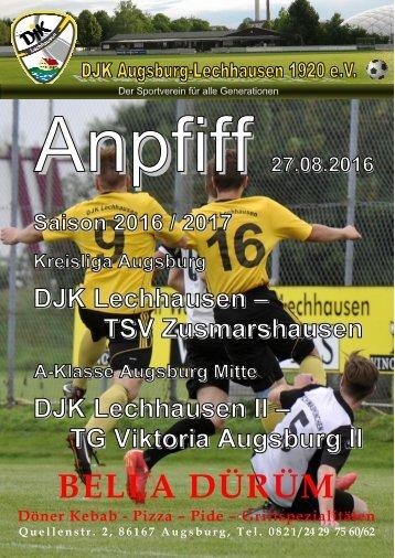 Anpfiff_2016-08-27 - DJK Lechhausen