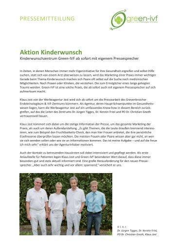 Aktion Kinderwunsch - green-ivf, Kinderwunsch ...