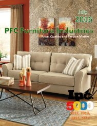 PFC Furniture Online Catalog 2016