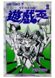 Mangá Yu-Gi-Oh! Volume 2 Capítulo 8