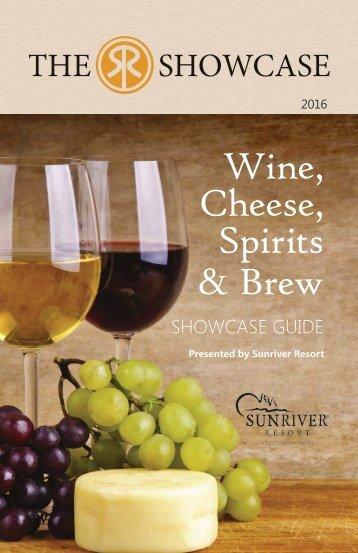 Wine Cheese Spirits & Brew