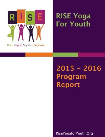 RISE 2015 - 2016 Year End Report