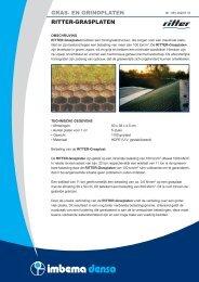 GRAS- EN GRINDPLATEN RITTER-GRASPLATEN - Imbema Denso