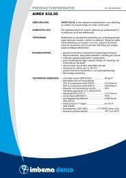 PRODUCTINFORMATIE AIREX S32.50 - Imbema Denso