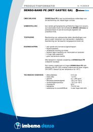 productinformatie denso-band pe (met gastec qa) - Imbema Denso