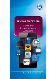 PRICING GUIDE 2016 (sum) and Student Achiever Accounts