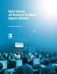 Digital Inclusion and Meaningful Broadband Adoption Initiatives
