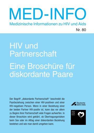 HIV und Partnerschaft - Deutsche AIDS-Hilfe