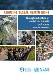 REDUCING GLOBAL HEALTH RISKS