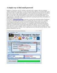 Hack Proofing - Your Network - Internet Tradecraft pdf - HackBBS