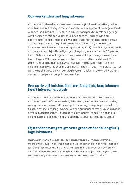 Armoede en sociale uitsluiting 2015