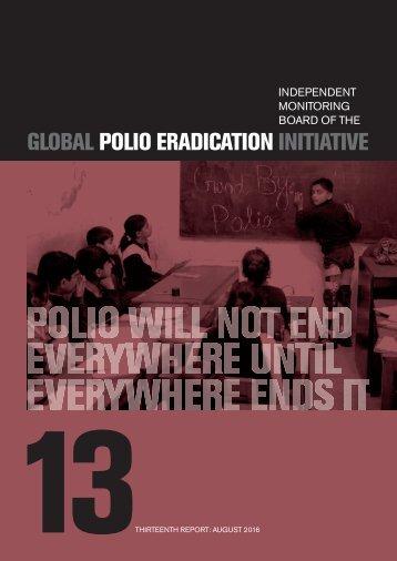 GLOBAL POLIO ERADICATION INITIATIVE