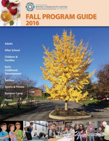 2016 Fall Program Guide